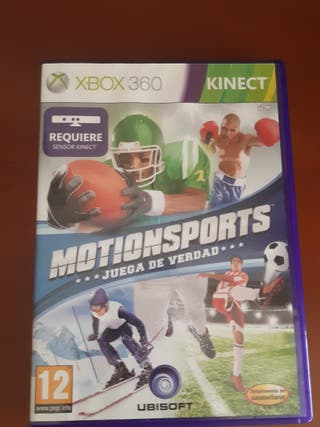 videojuego motionsports kinect