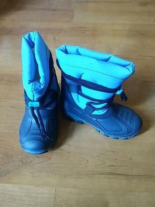 botas de agua de niño