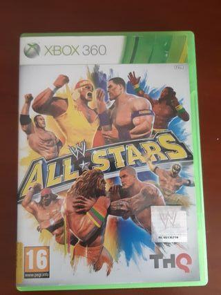 videojuego wwe all star