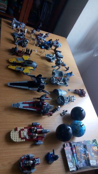 Lote lego star wars
