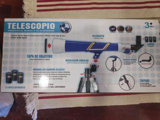 Telescopio. Precio de tienda 60€