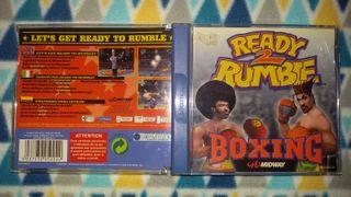 Ready 2 Rumble Boxing Dreamcast Pal España