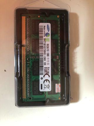 Modulo SODIMM 8GB DDR3 1600 PC3 APPLE/PORTATIL