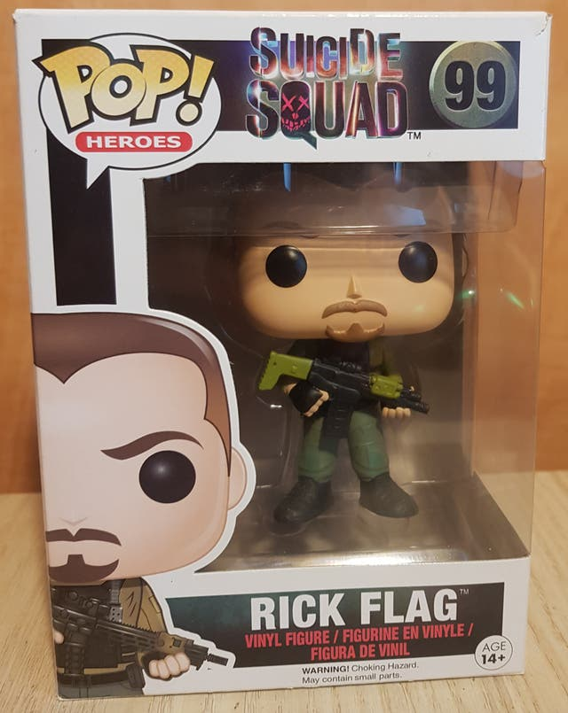 Rick Flag Funko pop