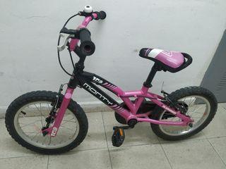 """Bicicleta Monty BMX 16"""" 103"""