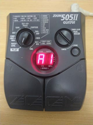 Vendo pedalera zoom 505II