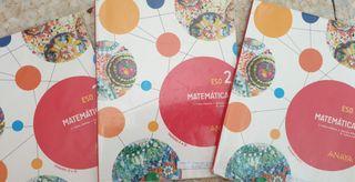 LIBROS DE MATEMÁTICAS 2 ESO EDITORIAL ANAYA