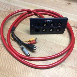 Cables video y audio RCA y Compuesto Pinnacle