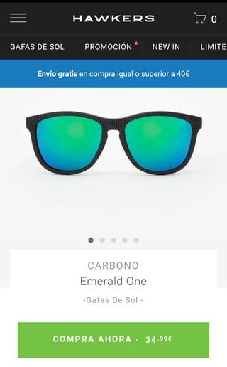 Gafas HAWKERS originales