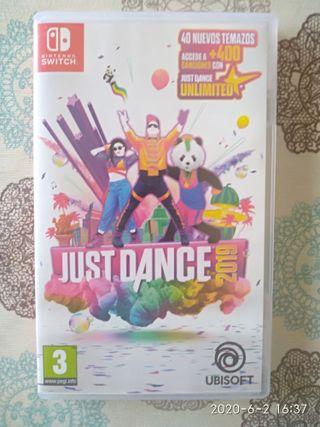 juego Nintendo switch Just dance 2019