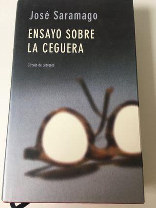 Ensayo sobre la ceguera. José Saramago
