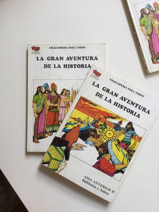Libros de la aventura de la historia