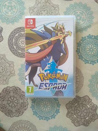 juego Pokémon espada Nintendo switch