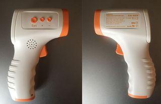 Termómetro de infrarrojos digital