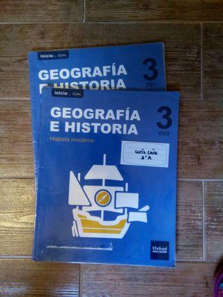 Libros geografía e historia 3 eso arcipreste