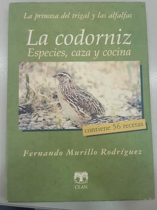 """Libro """"La Codorniz: Especies, caza y cocina"""""""