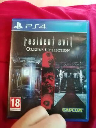 Resident evil Origins HD remaster