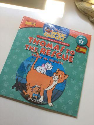 Libro de aprendizaje del inglés (cuento)
