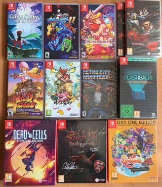 Lote Juegos Nintendo Switch