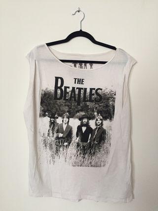 "Camiseta sin mangas ""The Beatles"" de Pull&Bear"