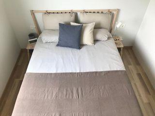 Cama de matrimonio BJÖRKSNÄS (IKEA) 160 x 200 cm