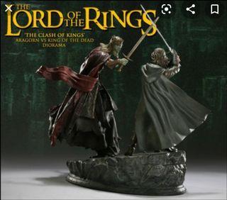 aragorn vs rey de los muertos esdla sideshow