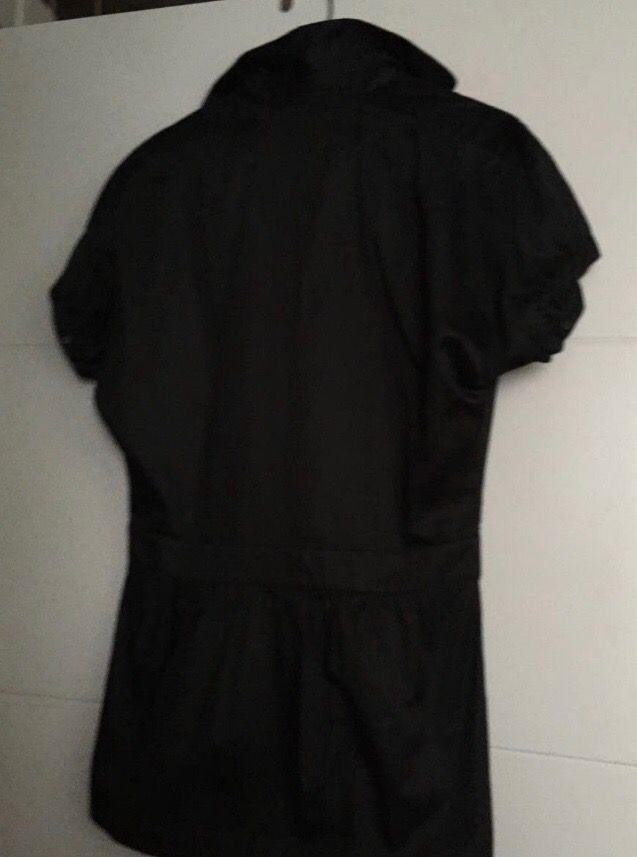 Uterque Blusa negra