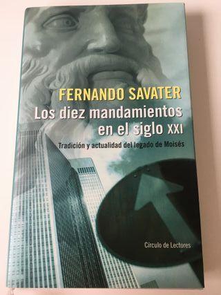 Los 10 mandamientos en el s.XXI. Fernando Savater