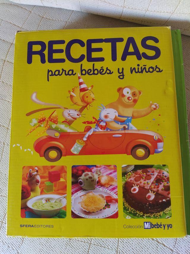 recetario para bebés y niños