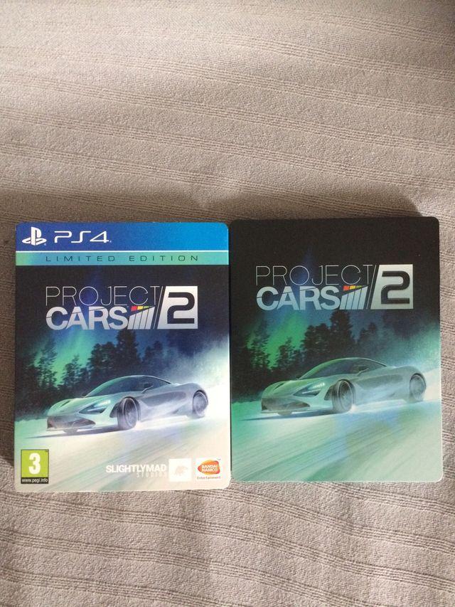 "PS4 PROJECT CARS 2 ""Edición limitada"""
