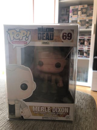 FUNKO POP , MERLE DIXON #69, (THE WALKING DEAD),