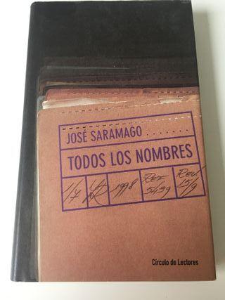 Todos los nombres. José Saramago