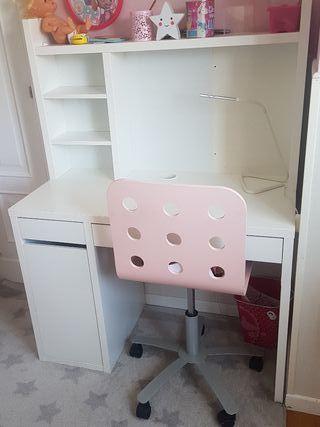 ESCRITORIO MICKE IKEA COMPLETO