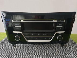 radio original de Nissan Qashqai año 2016 2019 imp