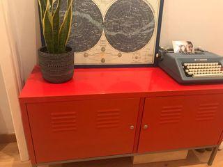 Mueble Ikea Rojo