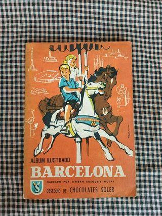 Álbum cromos Barcelona 1960