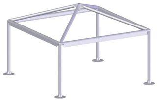 Estructura cenador aluminio (pergola, toldo)
