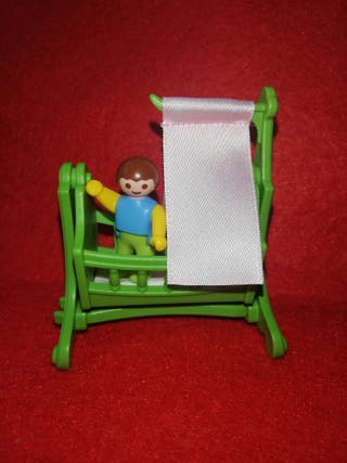 playmobil cuna bebe palacio casa victoriana