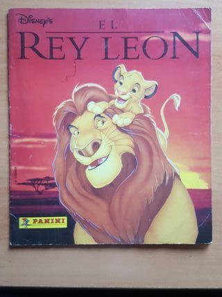 ALBUM EL REY LEON (1995) - PANINI (Para despiece)