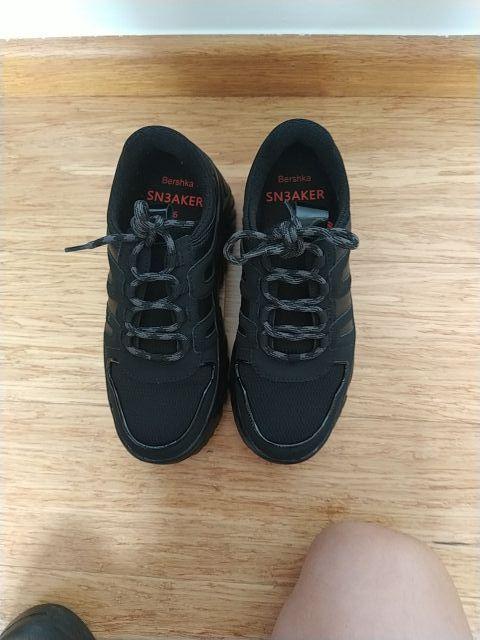 zapatos tipos bamba negras número 36
