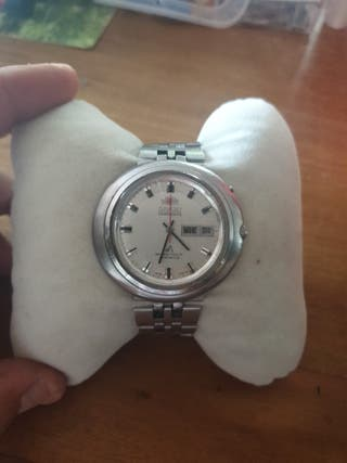 reloj orient chronoace automático jumbo