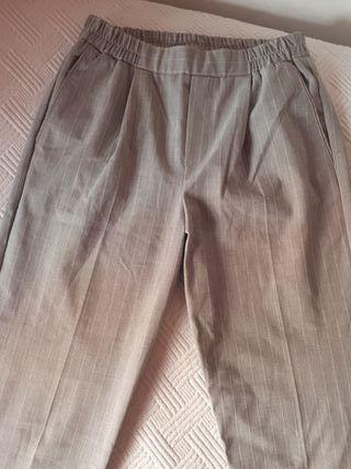 Pantalones de pinza talla S Bershka