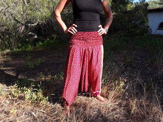 Pantalones de Goa, Yoga y Hippie