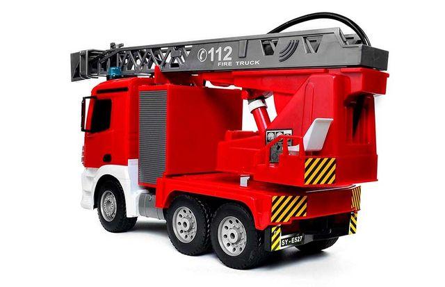 Camión radio control bomberos de agua