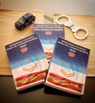 Libros de test oposiciones Policía Nacional Decuma