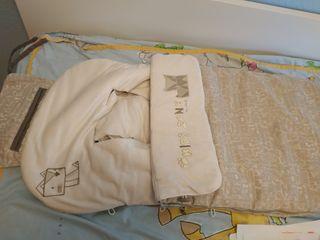 saco invierno carrito niño marca jane color beige