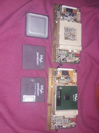 Procesadores, ram, tarjetas de sonido..
