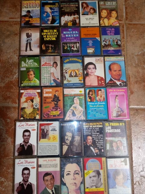 cintas cassettes