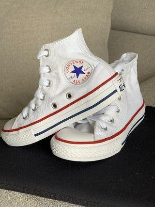 Zapatillas Niñ@ Converse Blancas