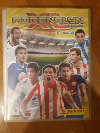 colección adrenalyn 2011-12